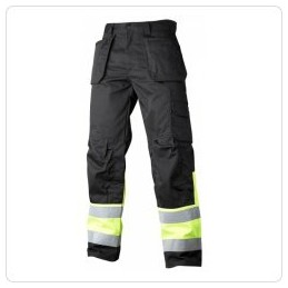 HI-VIS trousers with pockets