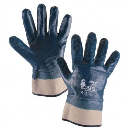 Gloves with nitrile coating
