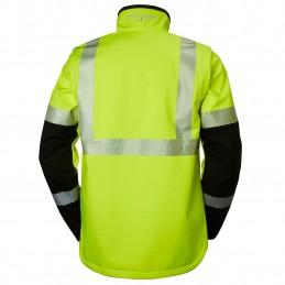 ICU HI-VIS SOFTSHELL jacket...