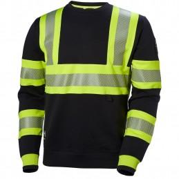 ICU HI-VIS crewneck sweater...