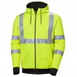 Addvis HI-VIS zip hoodie