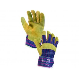 Suede leather gloves ZORO